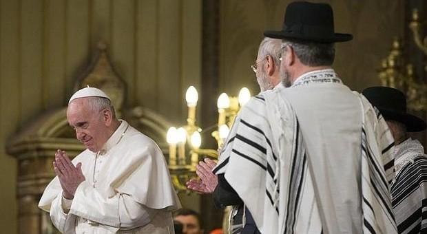 papa francisco sinagoga roma 2