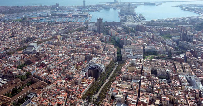 barcelona aérea